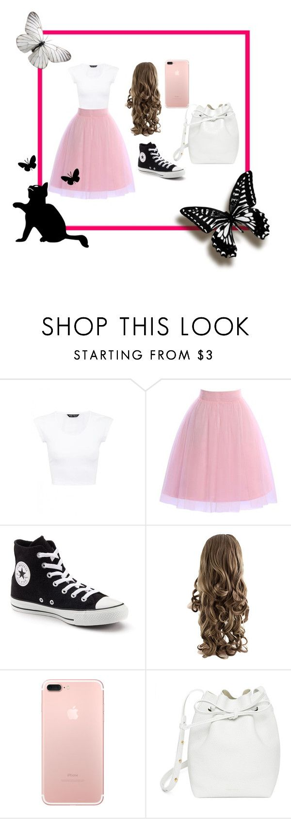 """""""Butterfly"""" by bnc03 ❤ liked on Polyvore featuring Converse and Mansur Gavriel"""