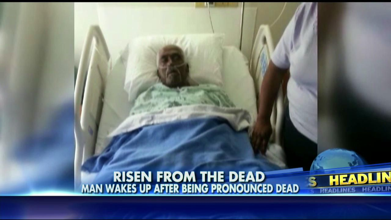 Mississippi miracle as elderly man walter williams wakes