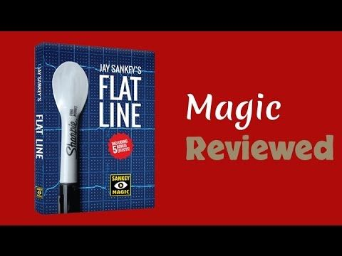 Flatline by Jay Sankey Review: 5 Stars with a Stone Status of Gem.  Full Review: http://magicreviewed.com/reviews/jay-sankey-flatline-review/