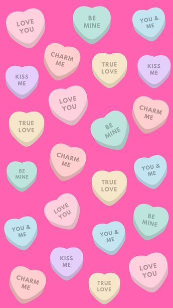 12 super cute valentine 39 s day iphone wallpapers patterns valentines wallpaper iphone pink - Cute valentines backgrounds ...