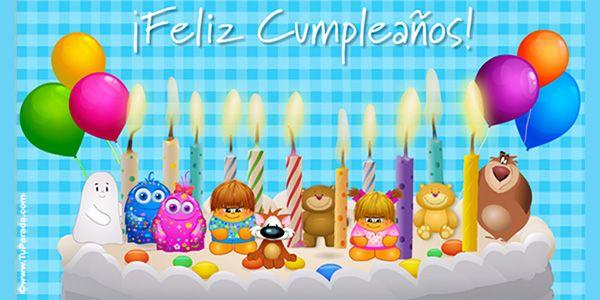 Tarjetas De Cumpleaños Tarjeta Virtual De Feliz Cumpleaños Tarjeta De Felicitación Tarjetas De Cumpleaños