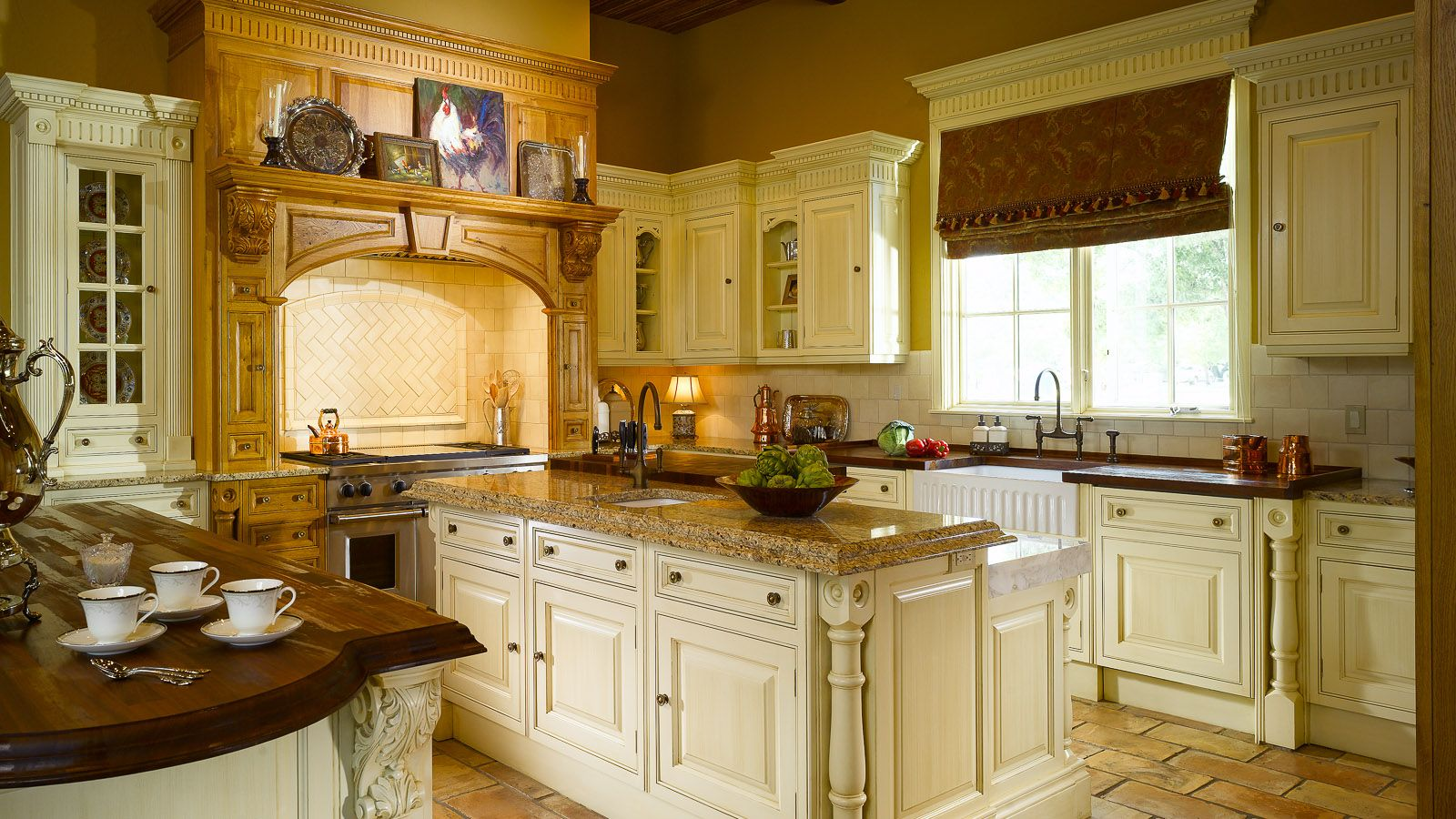 Luxury Kitchen Design In Baton Rouge La Tuscan Kitchen Design