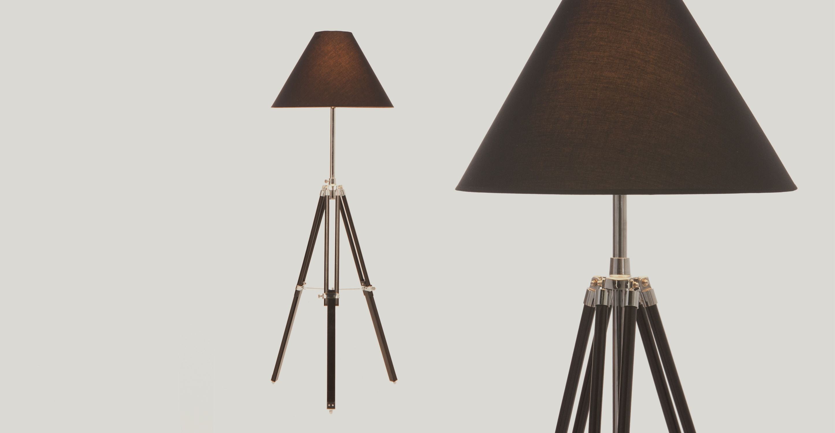Navy tripod floor lamp black from made express delivery this navy tripod floor lamp black aloadofball Images