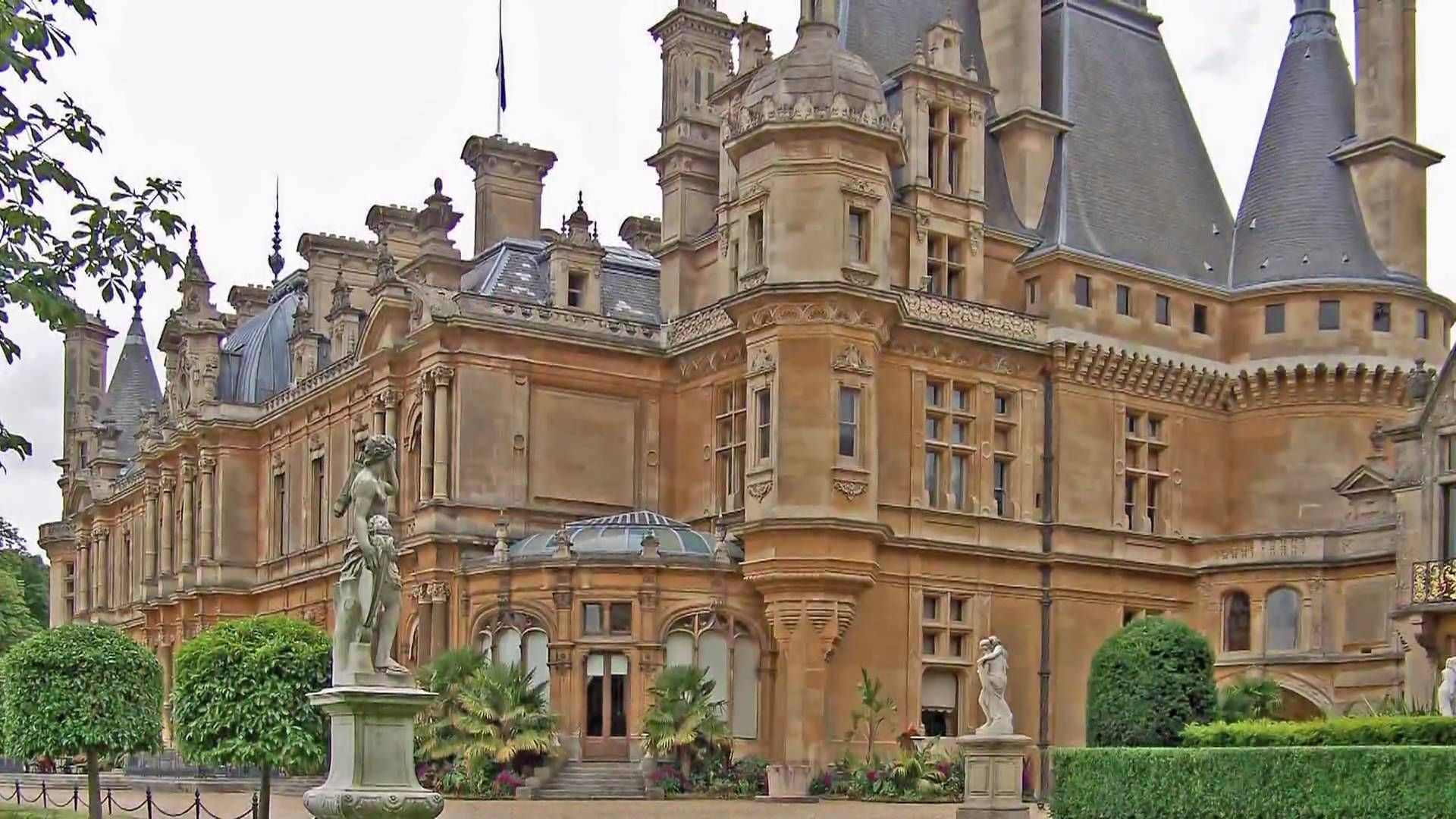 Best Kitchen Gallery: Waddesdon Manor An 1870's French Renaissance Chateau In England's of English Renaissance Architecture on rachelxblog.com
