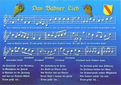 das badner lied baden das badner land  badnerlied note n kostenlos.php #6