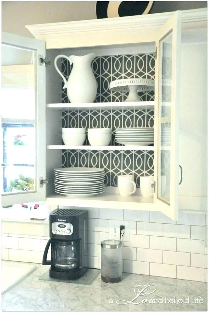 Kitchen Cabinets Decor, Contact Paper For Inside Kitchen Cabinets