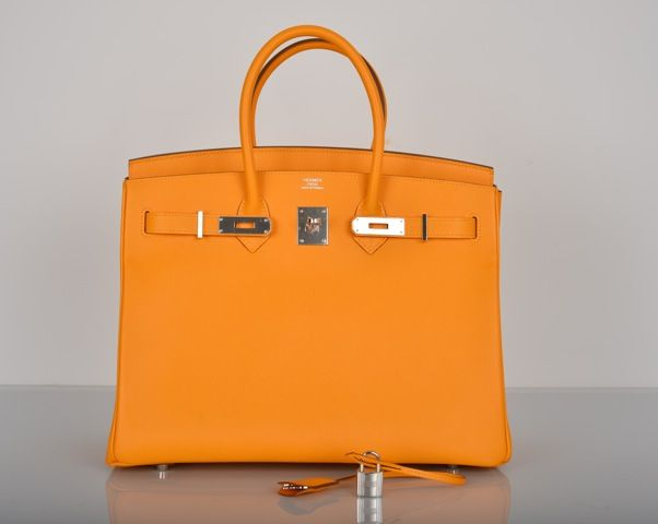 b64be11869 35cm Jaune d Or Candy Epsom Leather Hermes Birkin from 2016. Sensibly  priced at 8