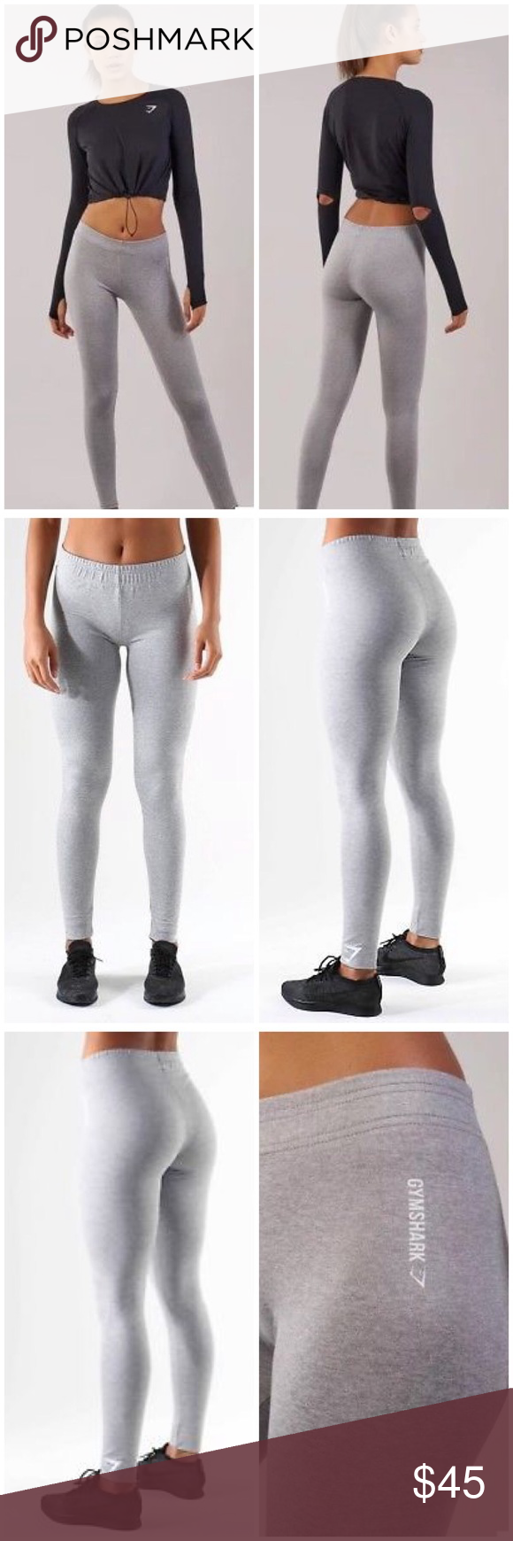 a7ed416728a71b Gymshark Ark Jersey Leggings Light Grey Marl Small Item specifics  Condition: New with tags: in bag Brand: Gymshark Size: S Size Type: Regular  Main Colour: ...