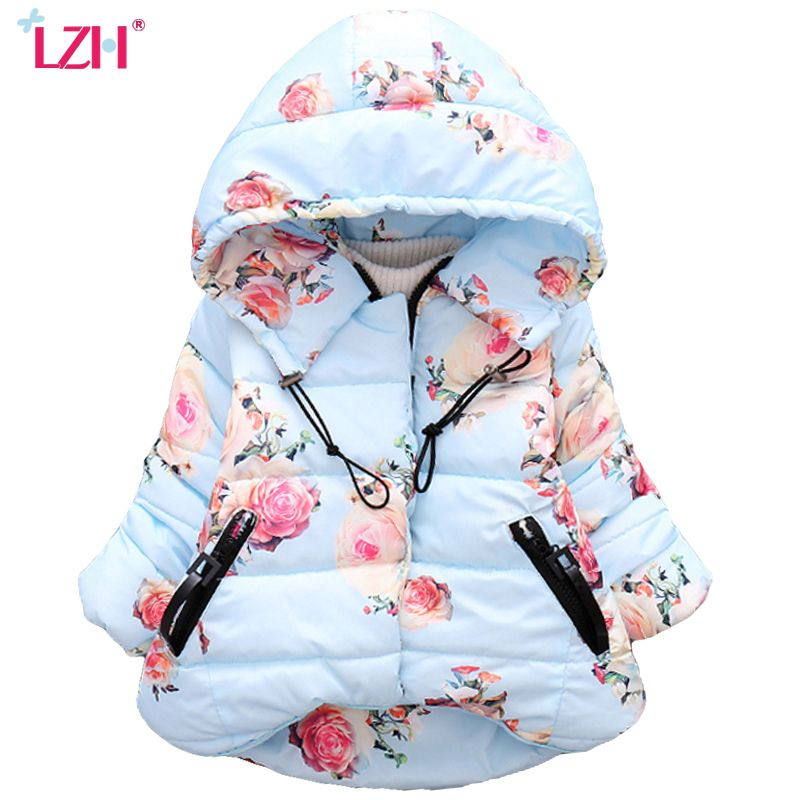 b2550d87f LZH Baby Girls Jacket 2017 Autumn  font  b Winter  b   font  Jacker ...