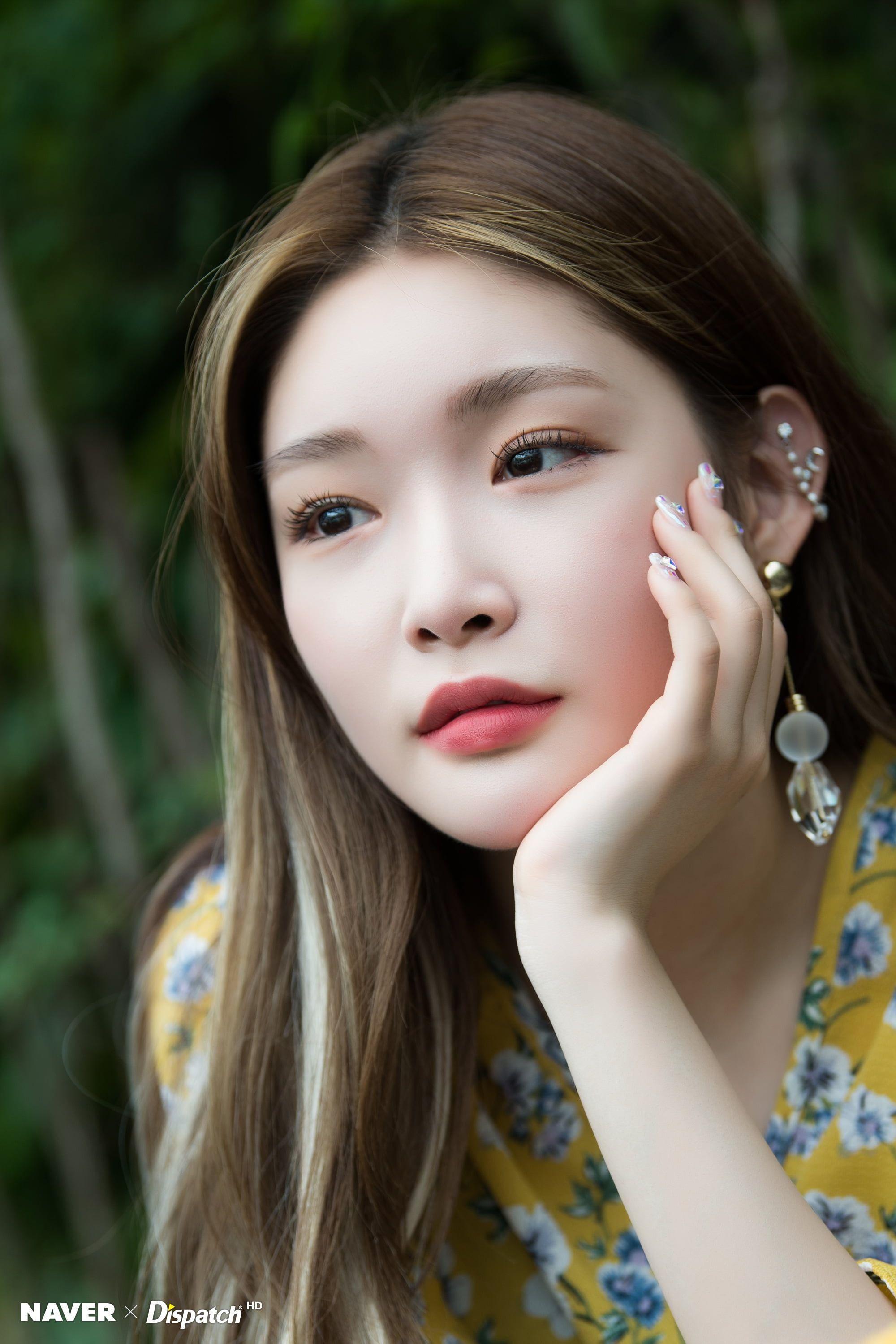 K Pop Asian Chungha 2k Wallpaper Hdwallpaper Desktop Long Hair Styles Idol Korean Beauty