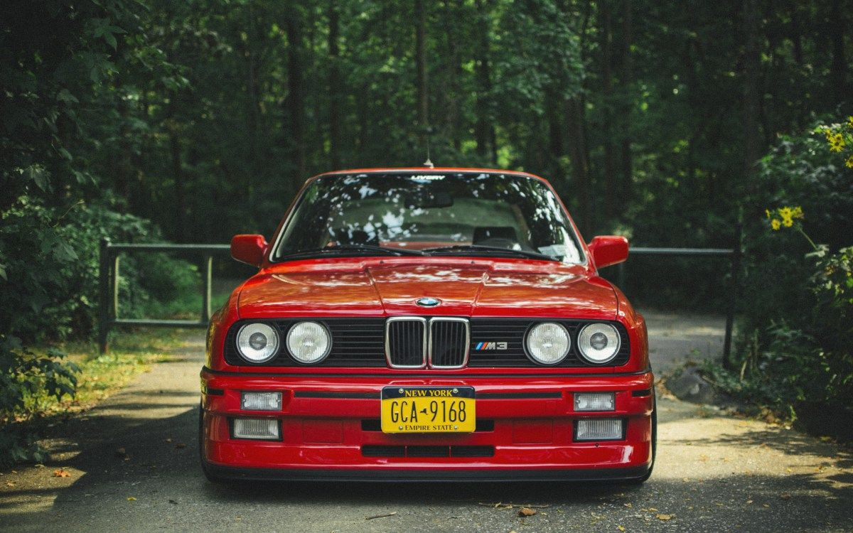 4k Wallpaper Bmw E30 M3 Red Car Tuning Wallpapersinsta Motores Autos Millonarios