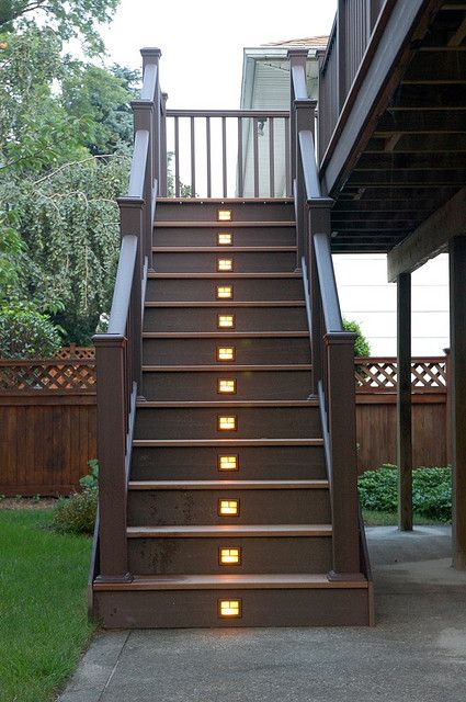 Stair Lights With Images Outdoor