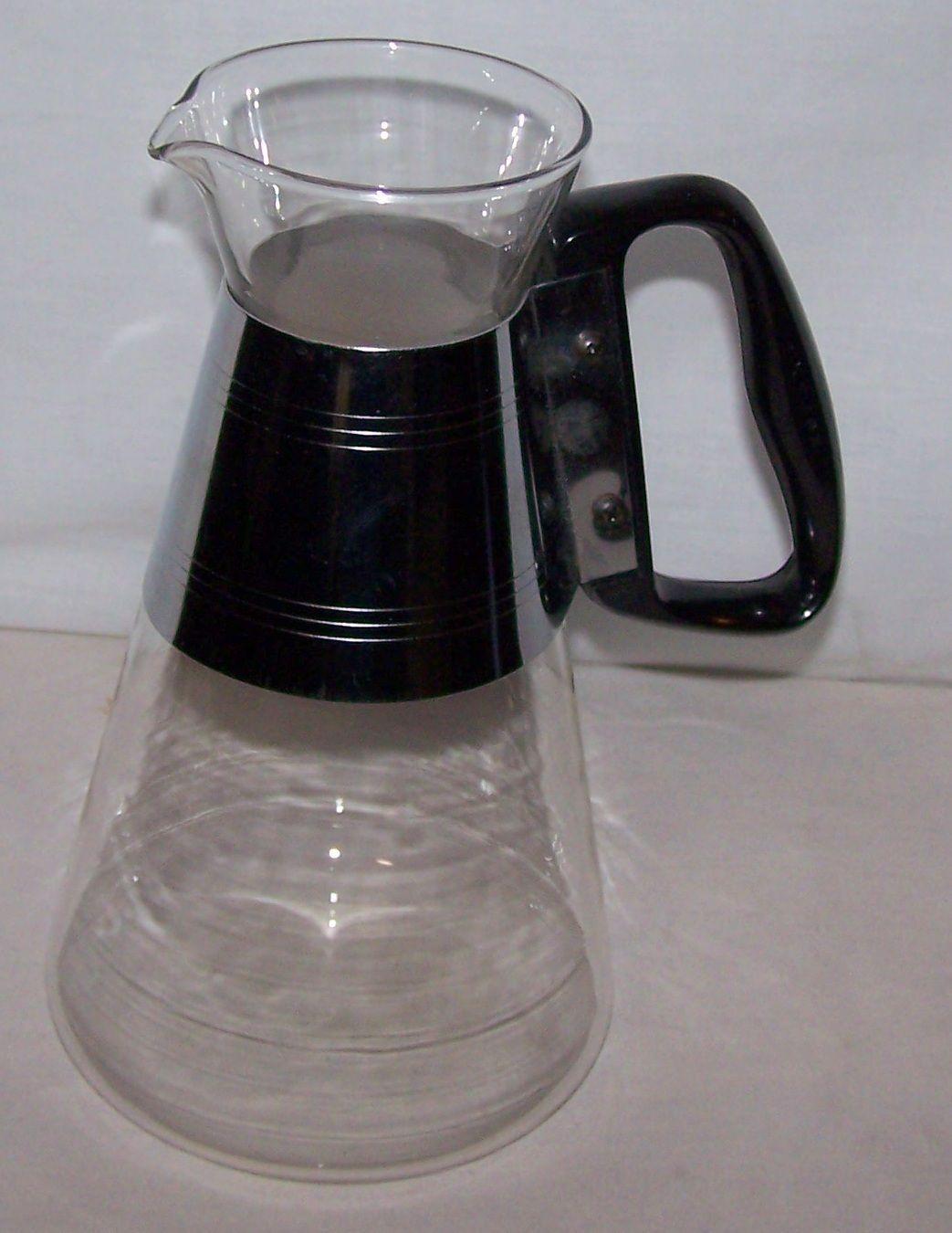 Coffee Pot Vintage Pyrex Carafe Retro Mid Century 50's