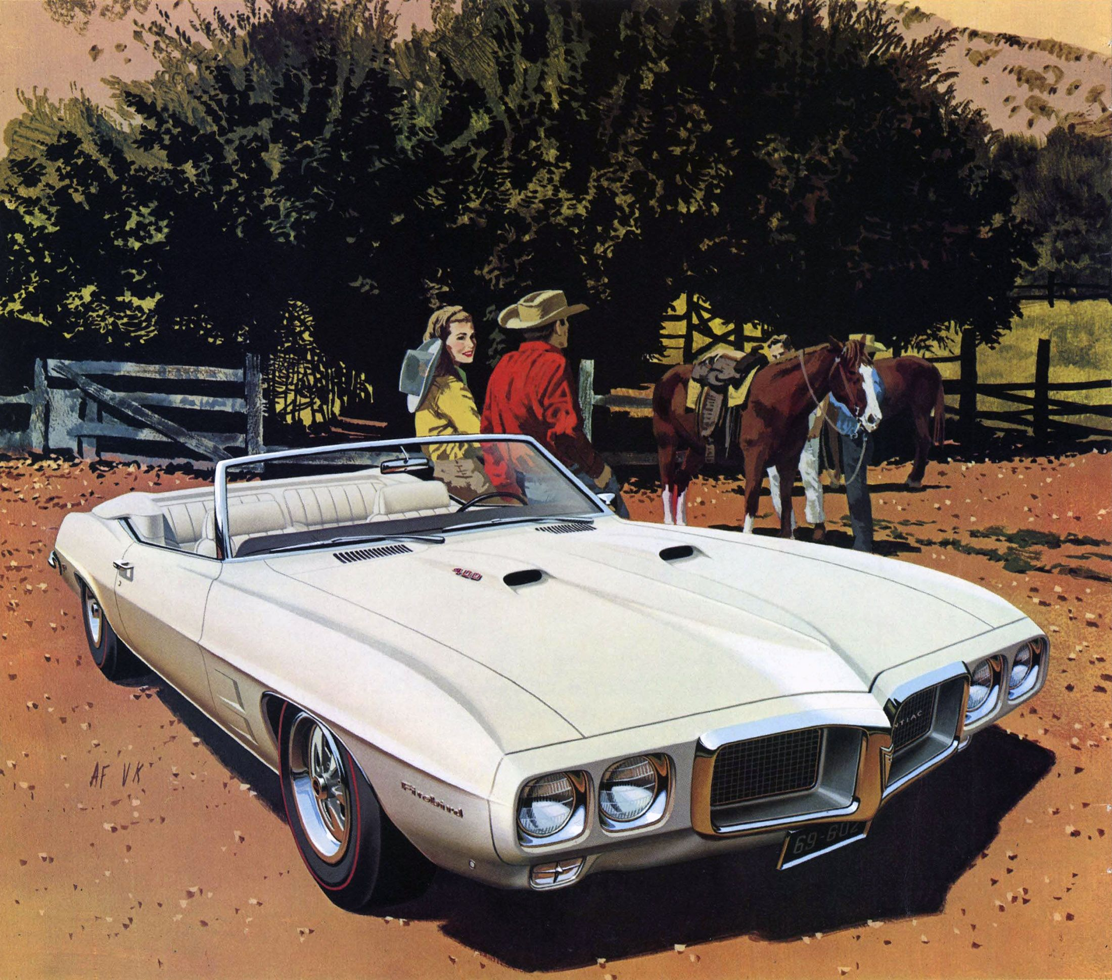 1969 pontiac firebird 400 convertible tuscon corral art fitzpatrick and van kaufman