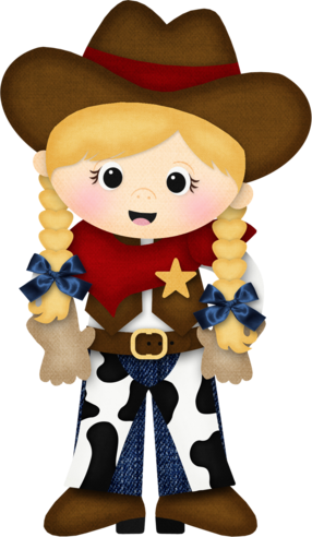 Blonde haired cowgirl | Cowgirl Clipart | Cowboy Party ...