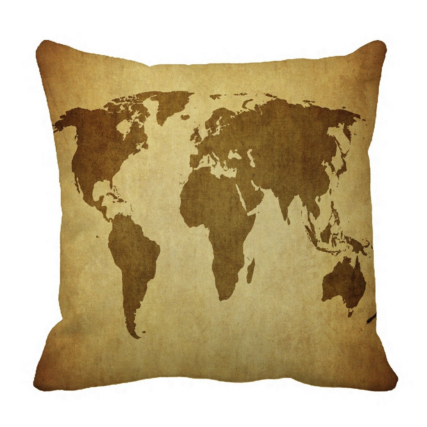vintage map of the world Pillow?Case?Pillow?Cover?Cushion?Cover