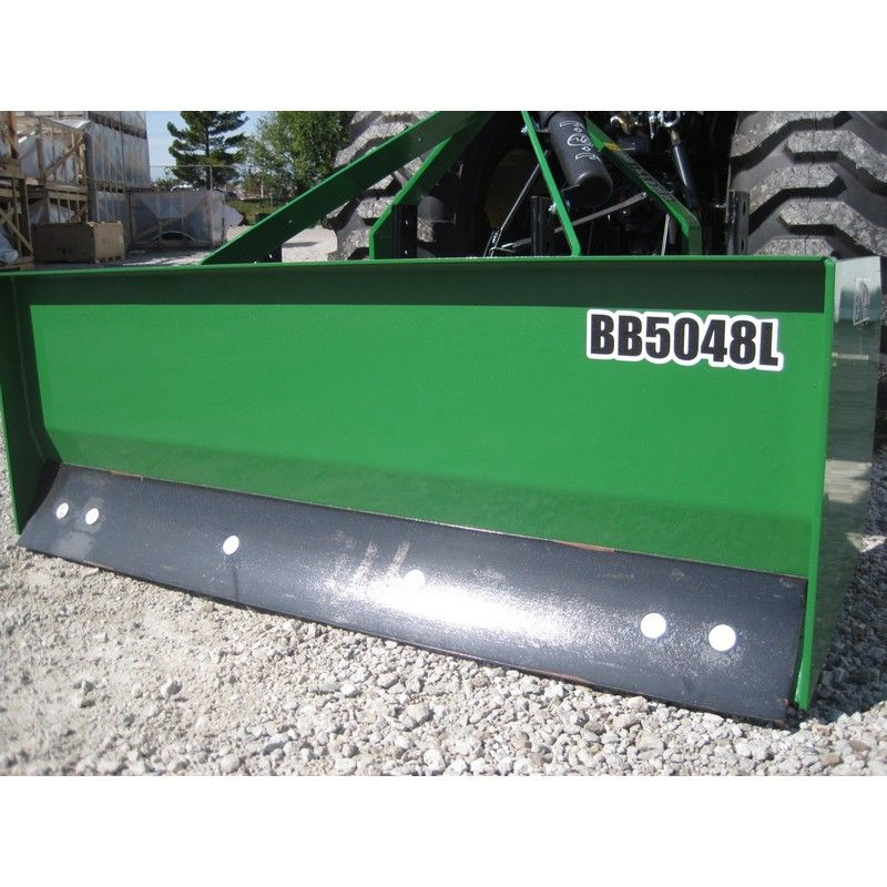 Frontier 4' Box Blade BB5048L | Mutton Power Equipment This box