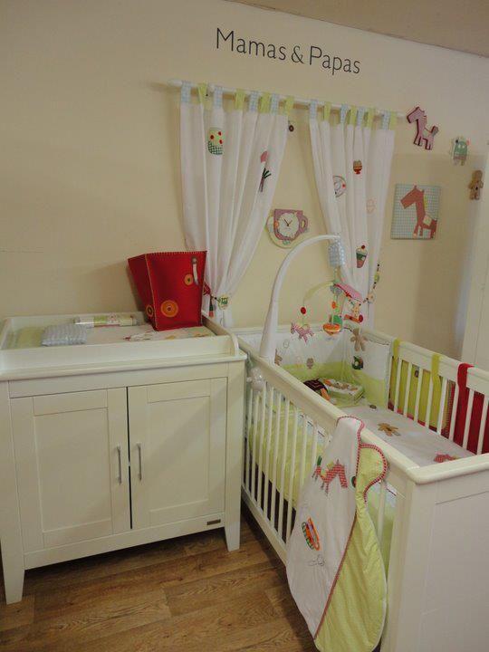 Suburbs Mama Nursery In Master Bedroom: Mama's And Papa's GINGERBREAD Nursery Room Display.