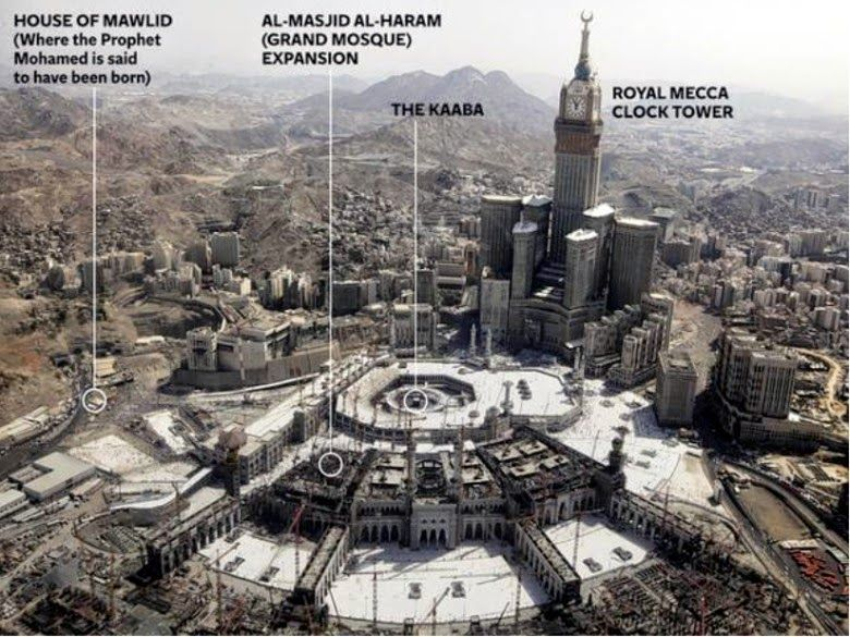 Construction Time: The Shopping Mall-ization of Mecca
