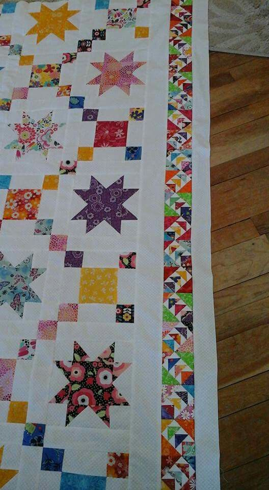Wild And Goosey Border Quilts Colorful Quilts Strip Quilts