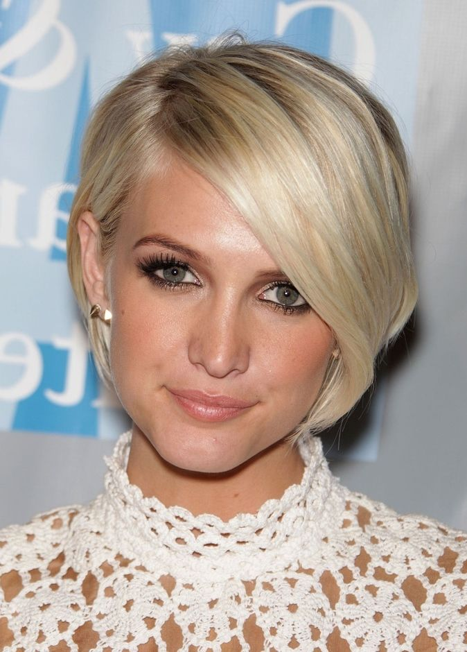 26 Most Flattering Short Hairstyles for Oval Faces in 2020 | Oval face hairstyles, Short hair ...
