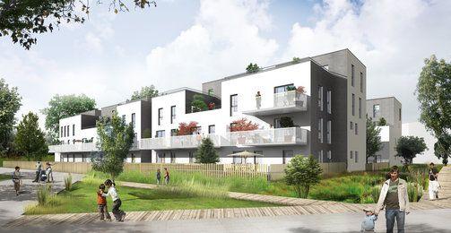 La future Résidence Quiételle de Mulhouse  des logements adaptés - credit impot maison neuve