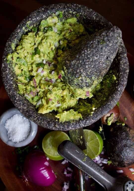 Guacamole- I'm finding more and more that I enjoy it.