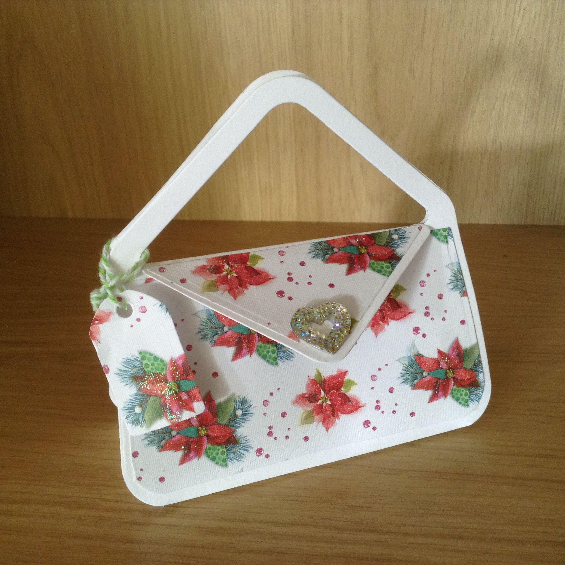 Handmade Christmas Themed Handbag Gift