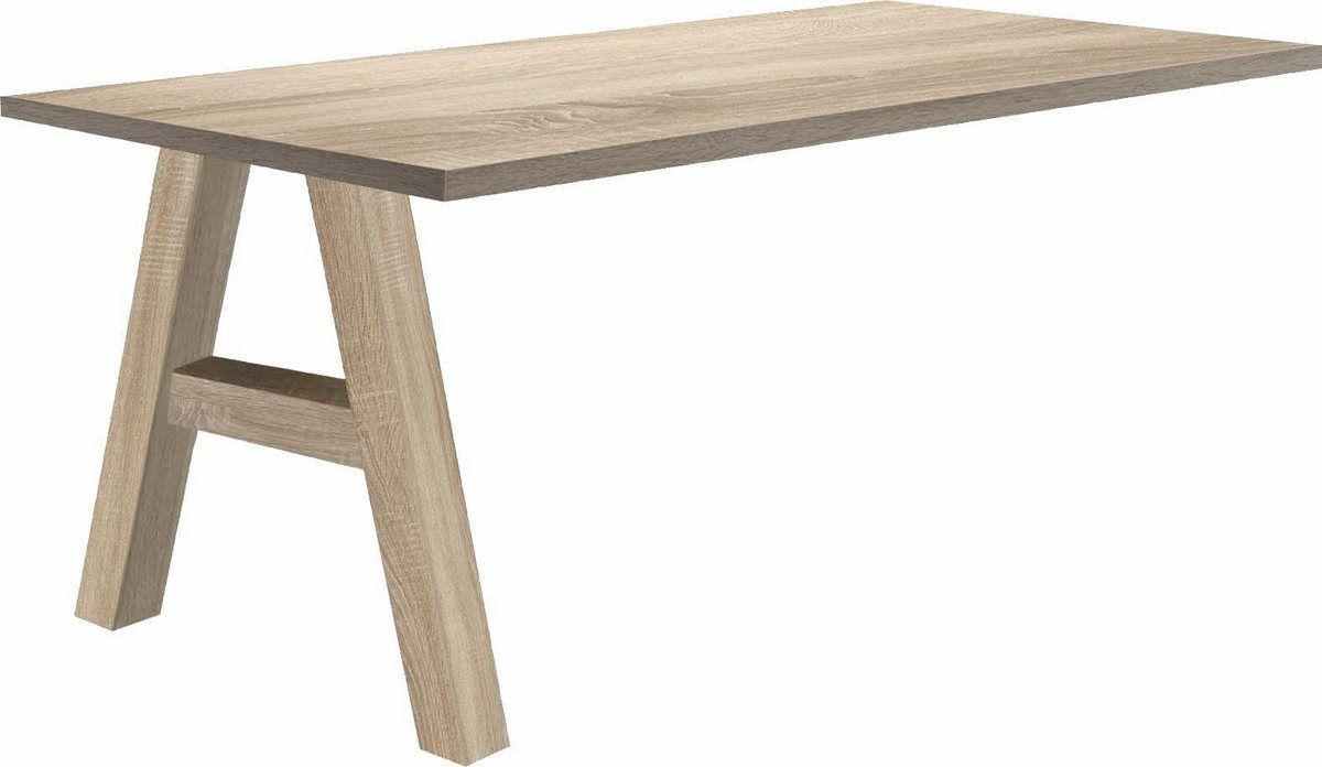 Anbautisch Mio Masse B T H 160 70 75 Cm Online Kaufen Tisch Holzwerkstoff Schreibtisch