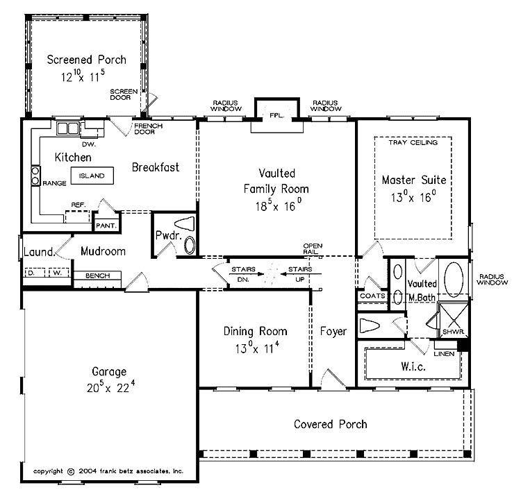 First floor cape cod house plan planos de arquitectura for Cape to colonial conversion plans