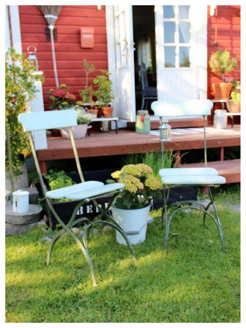 Pikkutalon elämää: Vanhat tuolit