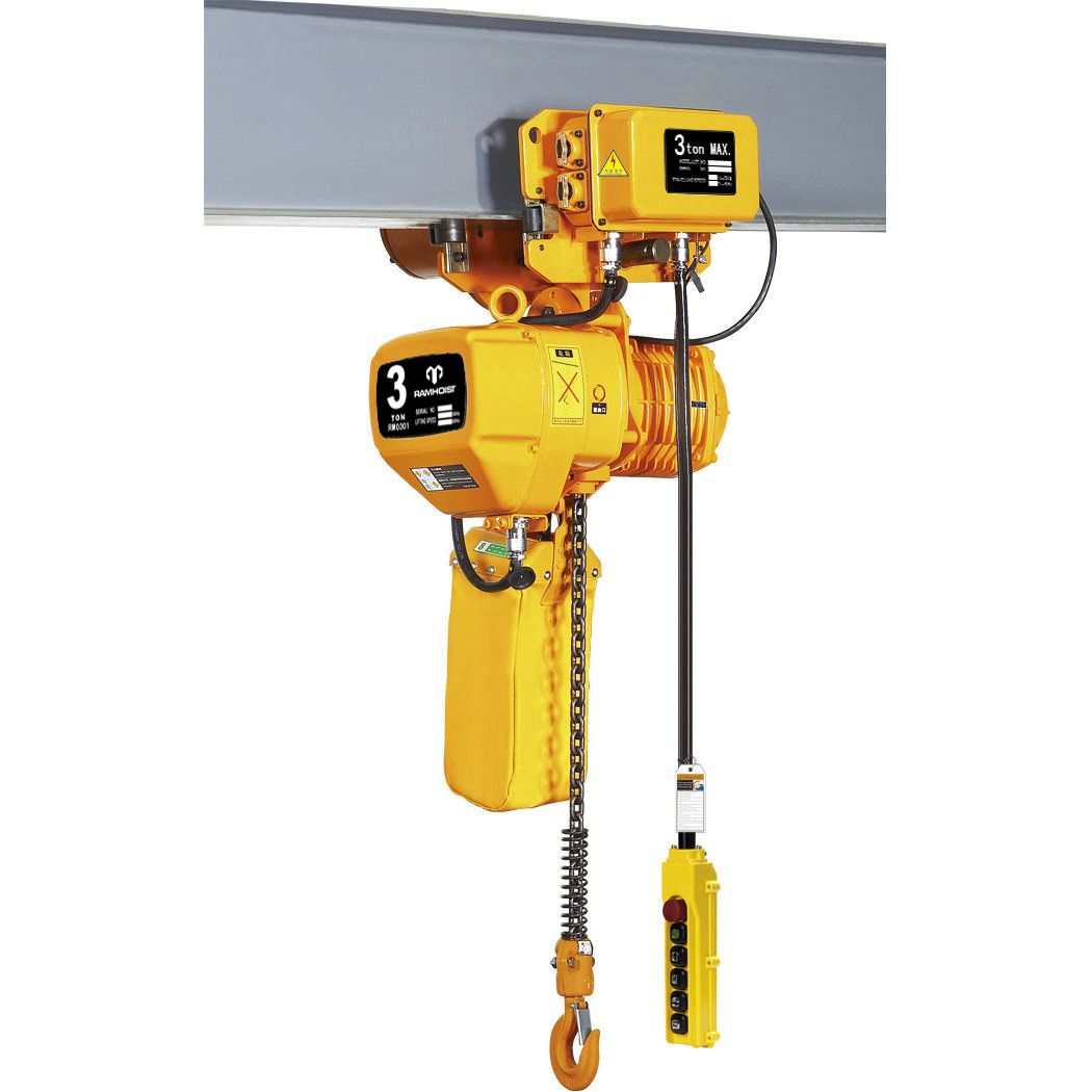 Electric Chain Hoist 0 5ton 10ton With Electric Trolley Hoist Electricity Ideal Tools