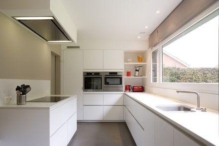 Strakke witte keuken google zoeken project k pinterest keuken zoeken en google - Keuken witte laquee ...