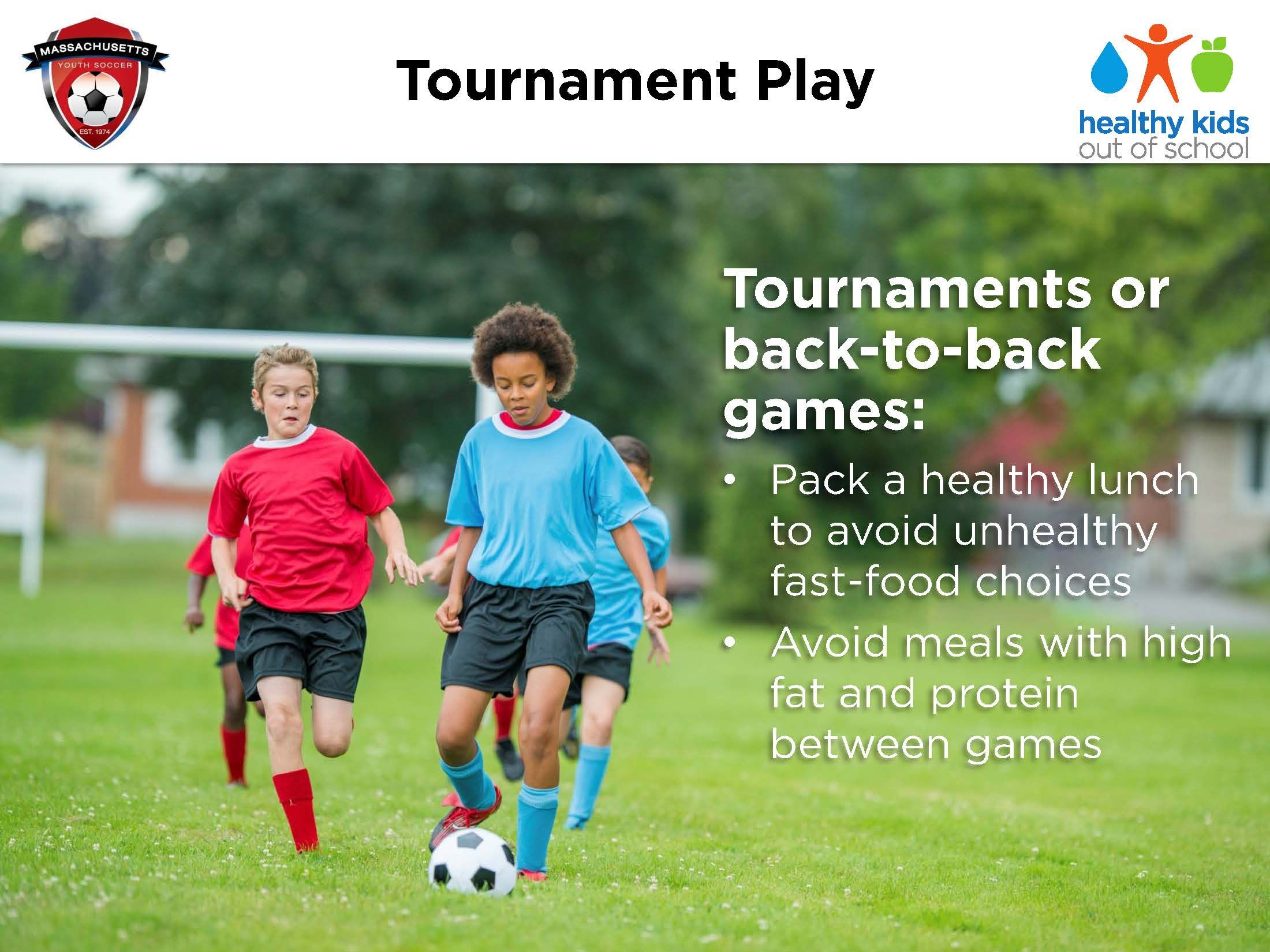 Tournament Play Soccer Coaching Healthy Kids Tournaments