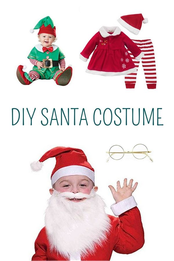 Christmas themed baby Halloween costumes