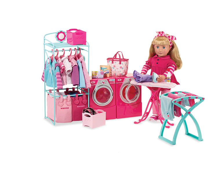 Contemporary Laundry Set Our Generation Dolls Doll Clothes American Girl Our Generation Dolls All American Doll