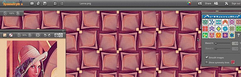 SymmetryMill: Artlandia Launches Web Application for Pattern Design