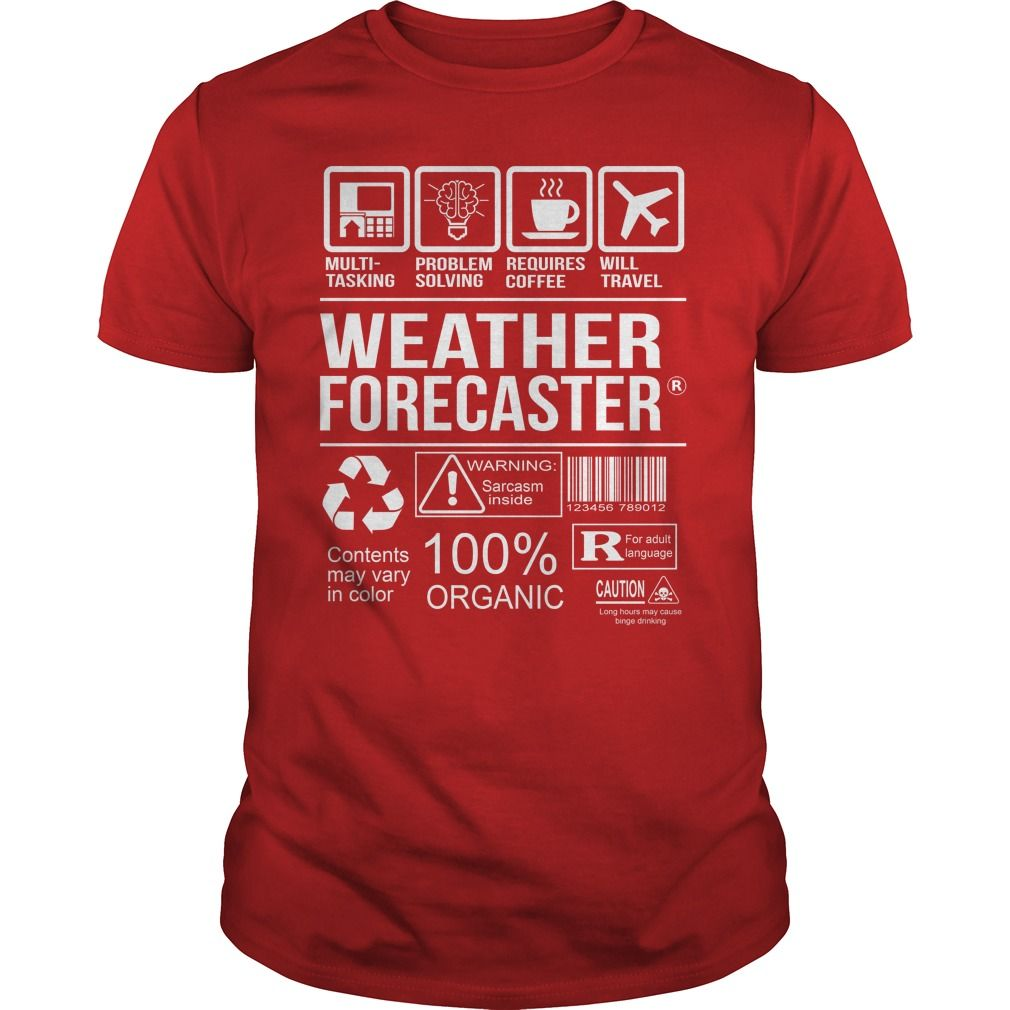 (Tshirt Like) Awesome Tee Shirt Weather Forecaster [Hot Discount Today] Hoodies Tee Shirts