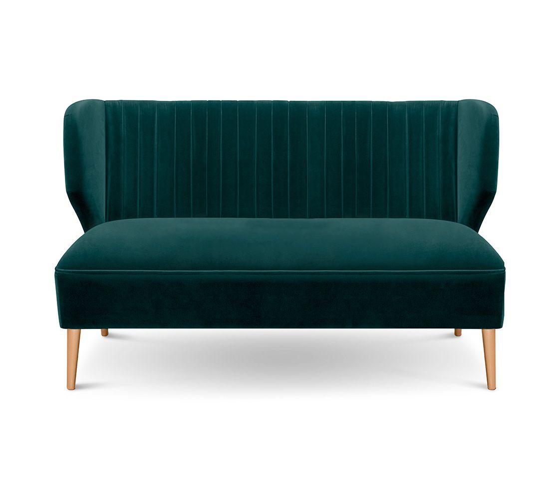 Bakairi Is A Modern Upholstered Sofa With Cotton Velvet This
