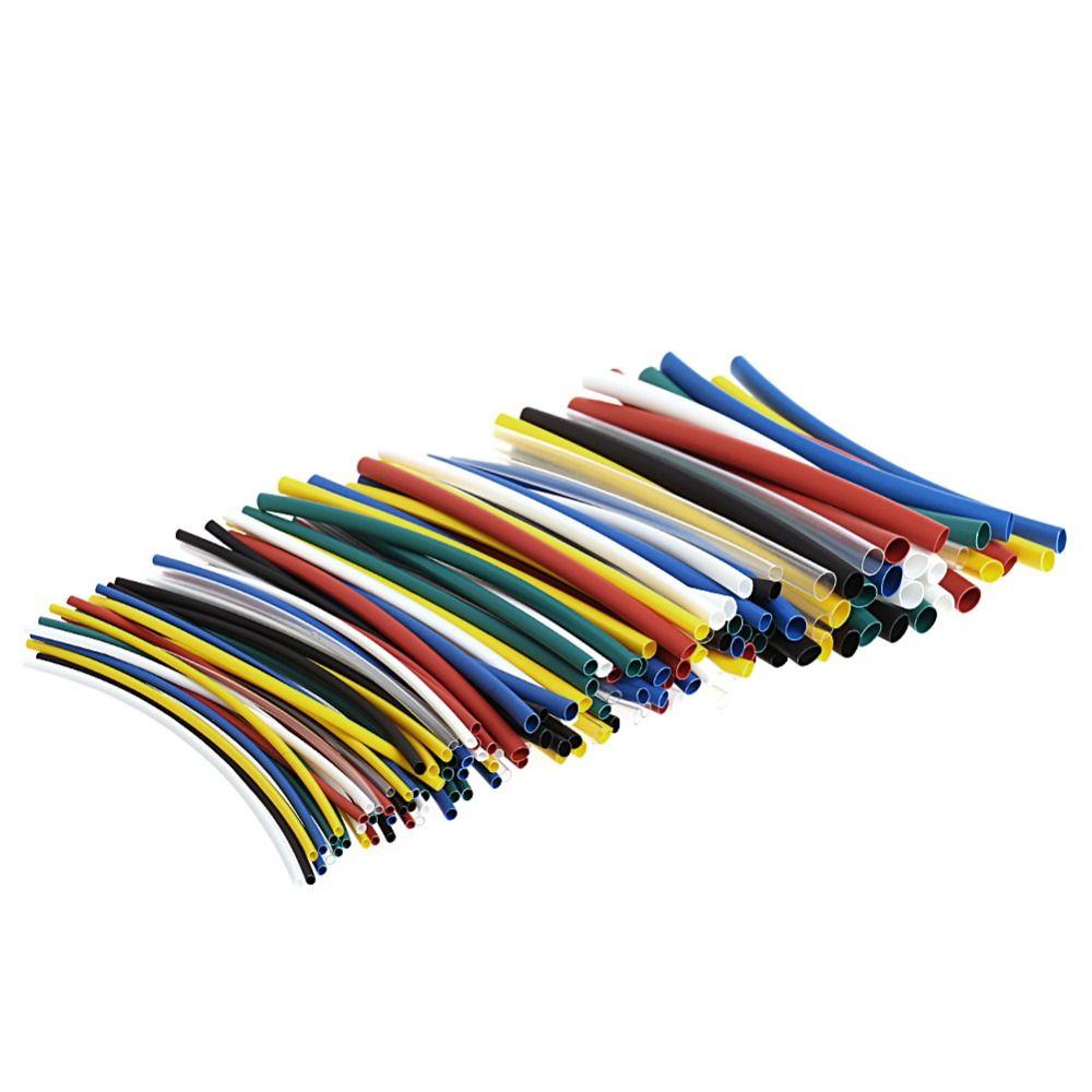 140 Stks Auto Buis Warmte Tubing Tubing Voor Elektrische Kabel Wrap ...