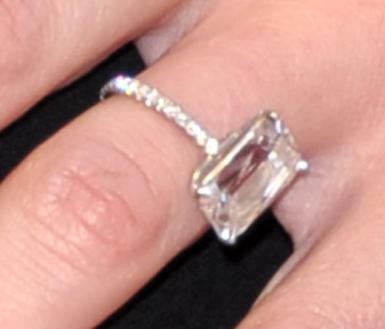 Candice Accola Wedding Ring