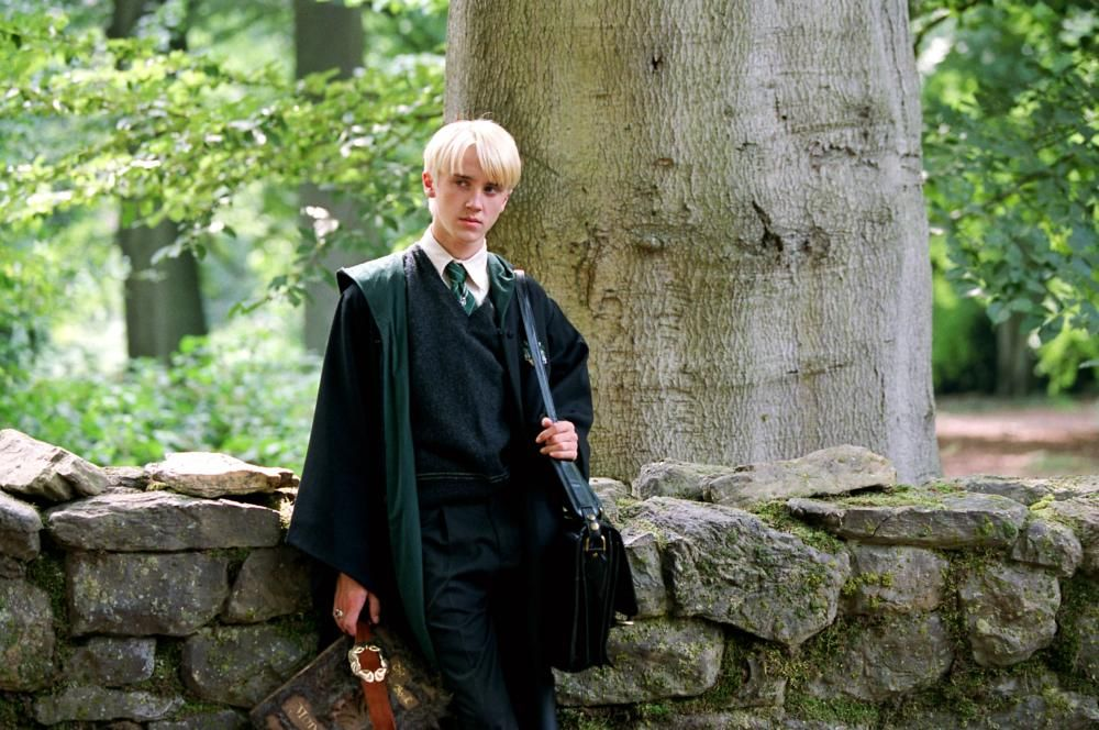 Harry Potter And The Prisoner Of Azkaban Tom Felton 2004 C Warner Brothers The Prisoner Of Azkaban Draco Malfoy Aesthetic Prisoner Of Azkaban