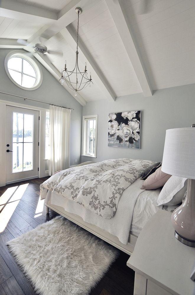 Benjamin Moore Hc 171 Wickham Gray Wohnung Schlafzimmer Design