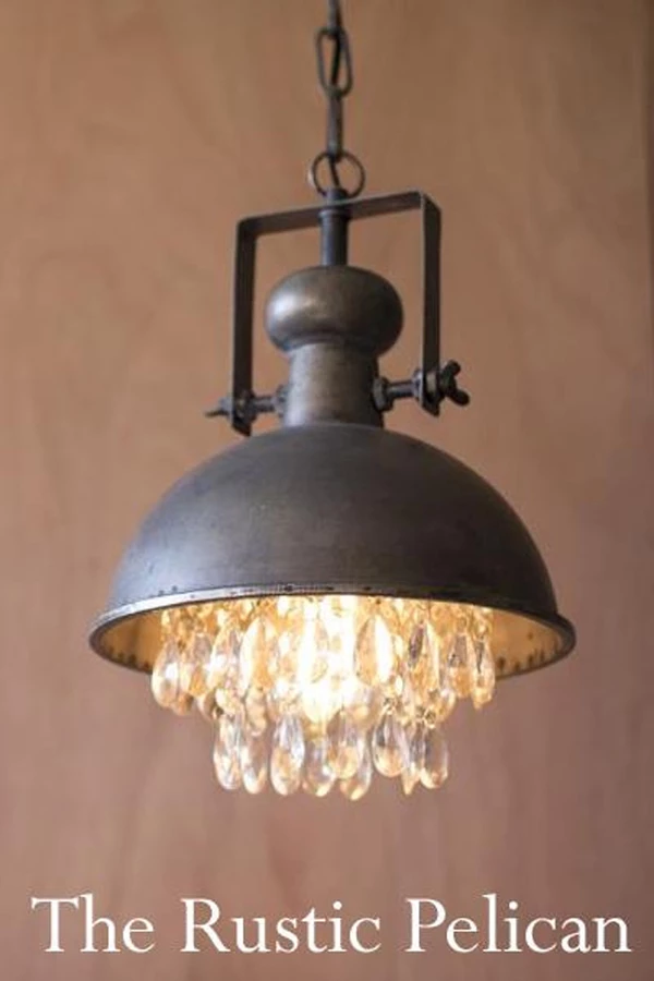 Industrial Lighting With Images Metal Pendant Lamps Farmhouse