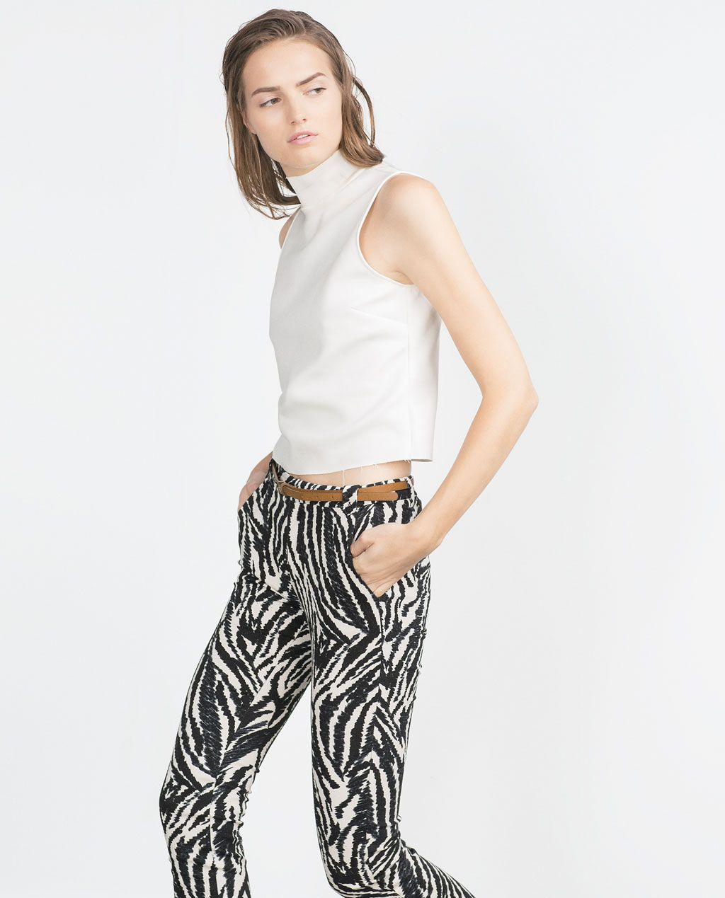 Ver Todo Pantalones Mujer Fashion Striped Zara