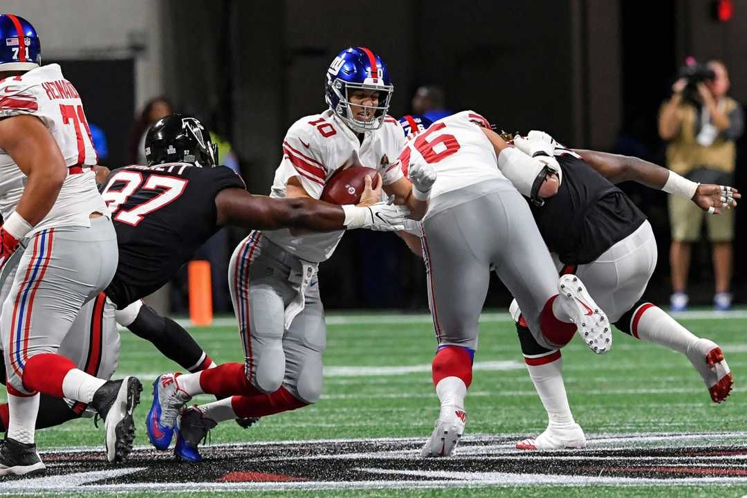 Ny Giants Vs Atlanta Falcons More Missed Chances For Big Blue