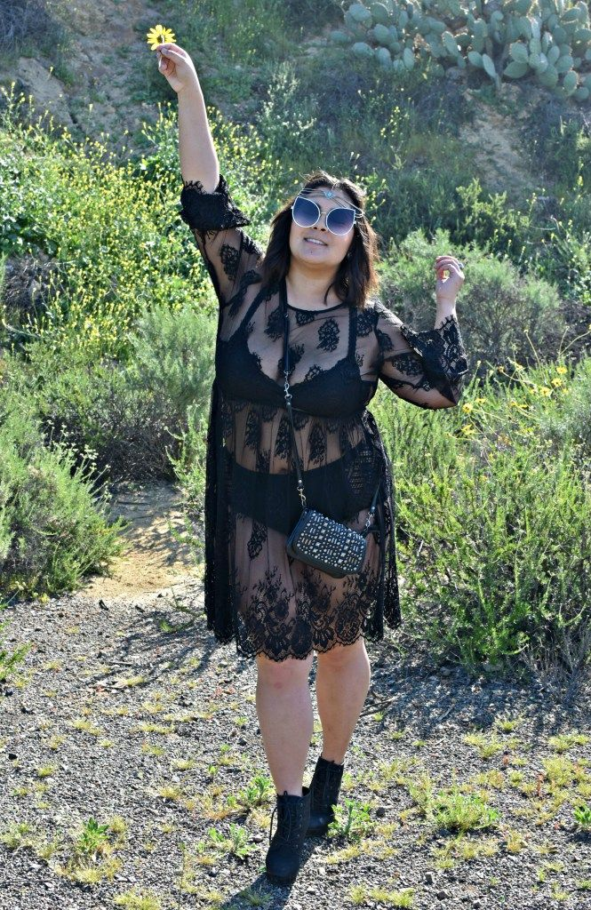 1ba35ced133 Plus size lace Coachella music festival style