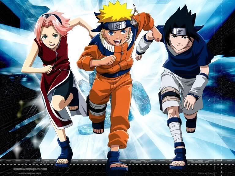 Naruto Naruto E Sasuke Naruto Equipe 7 Naruto
