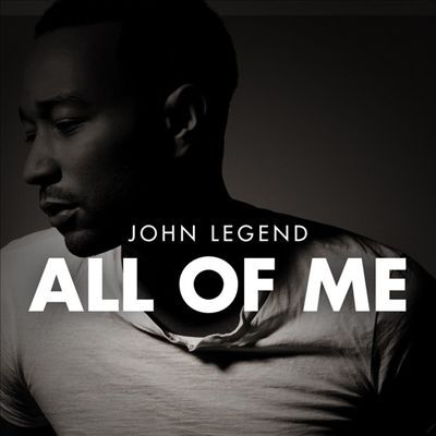Best album and song from John Legend |All Of Me Album Cover John Legend
