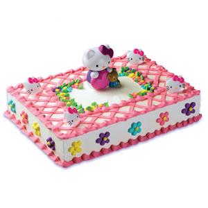 little girls cake ideas Hello Kitty Birthday Party Ideas